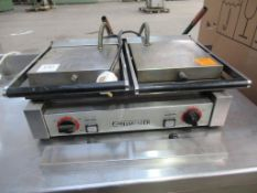 Grillmaster stainless steel double grill