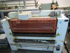 Interwood glue rollers