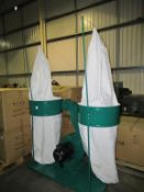 Dual bag dust collector