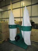 Dual bag dust collector 5.5kW
