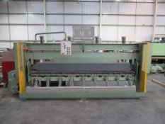 Brandt PF10/31 postforming worktop machine 3PH
