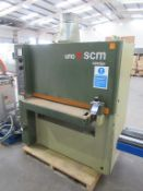SCM Sandya Uno RCS Double Wide Belt Sander