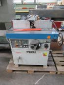 iTech SM55 spindle moulder with rebate cutter block fitted 3PH