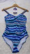 Fantasie Ladies Bathing Costume, Size 32DD, Rrp. £86