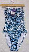 Roidal Ladies Bathing Costume, Size 10, Rrp. £166
