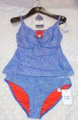Prima Donna Ladies 2 Piece Swimsuit, 36D, Rrp. £108