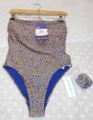 Seafolly Ladies Bathing Costume, Size 10DD, Rrp. £120