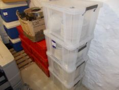 Large quantity of crockery to 10 x boxes / crates