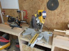 Dewalt D7187 Chop Saw, with mitre
