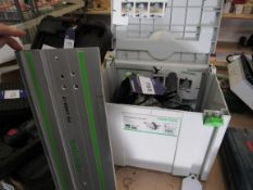 Festool TS55EBQ Rip Saw & Guide, 240v, No S61171, 1200W