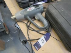 Earlex HG1500 Heat Gun, 1500W, 330C – 510C, Serial Number HN028996