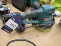 Makita BO6030, Orbital Sander 150mm, 310W, 4,000-10,000RPM, Serial Number 39902