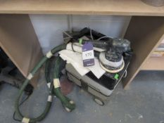 Festool ETS150/3 EG Orbital Sander with Festool CTL Midi Hoover Dust Extractor