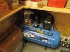 Abac B259-100 100HP Compressor, Mod. B2800l/100 FM2 V240 Ko pex