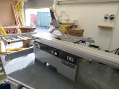 Felder K540S Sliding Table Saw, with scribe, tilt arbour, 5.5KW, 3 Phase, Serial Number 442.07.039.