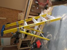 Clow EN131 3 Tread Fibre Glass Ladder
