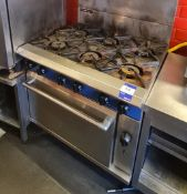 Blue Seal Gas Oven & Hob 6-Ring