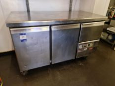 Caravell Double Refrigerated Counter