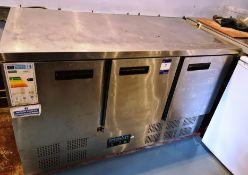 Polar Triple Door Refrigerated Counter