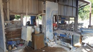 MEC C550 Stone Splitting/Guillotine Machine, Seria