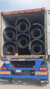 1440 Metres of New (Unused) HDPE Culvert Pipes in 14 x 20FT ISO Containers
