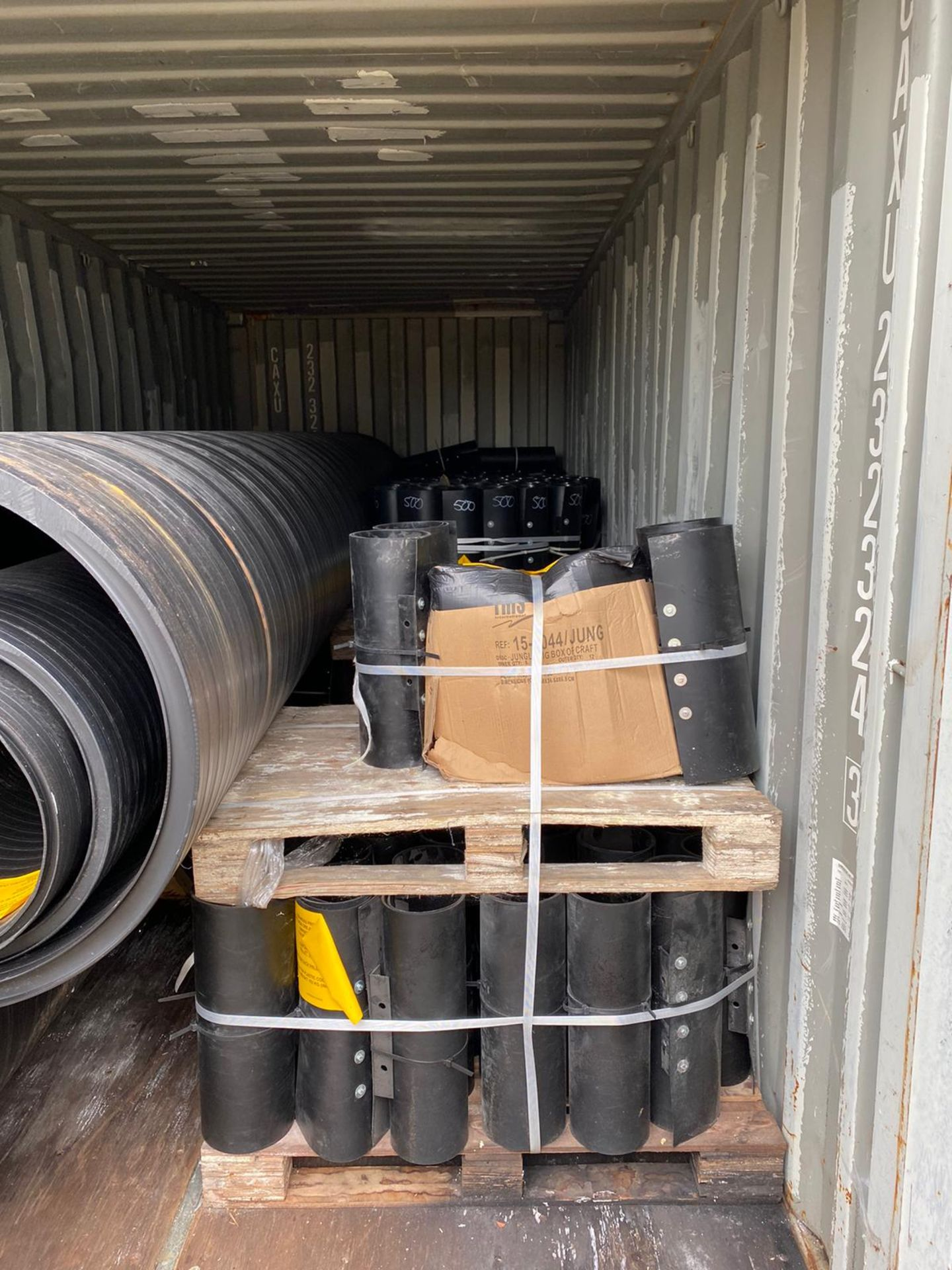 1440 Metres of New (Unused) HDPE Culvert Pipes in 14 x 20FT ISO Containers - Image 2 of 7