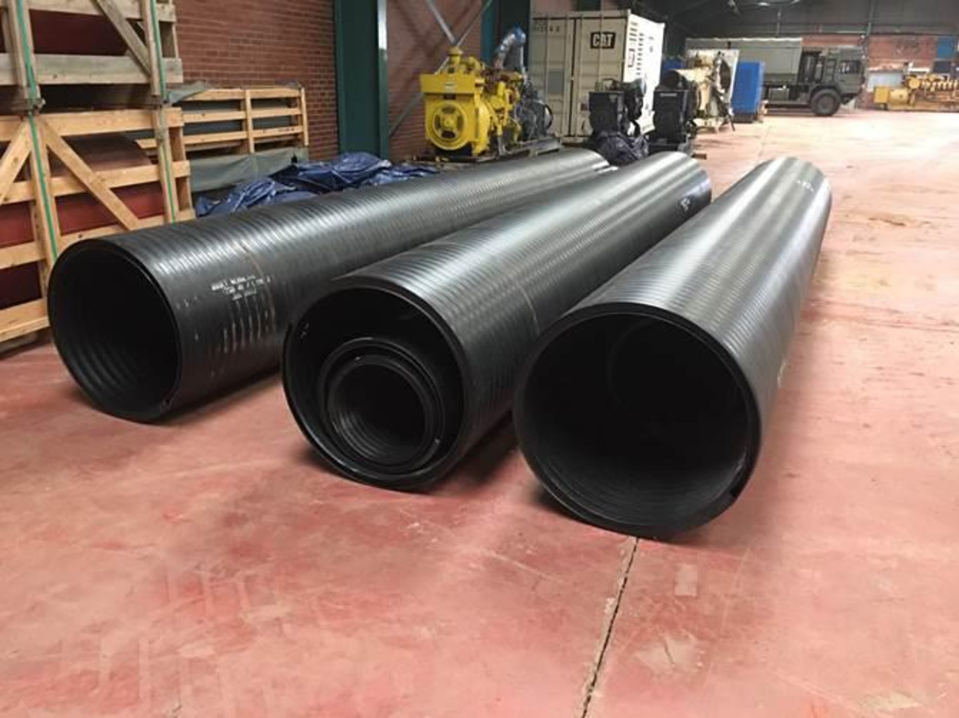 1440 Metres of New (Unused) HDPE Culvert Pipes in 14 x 20FT ISO Containers - Image 4 of 7