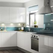 Circa 5,799 items of Brand-New Marletti Gloss White Range & Sandford Range Kitchen Goods. Including: