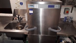 Winterhalter PT-M Stainless Steel Pass Through Dishwash