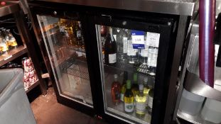 Lec BC9007K Double Door Bottle Cooler and Contents, Wine, Beer, Cider & Water