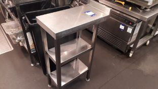 2 x Stainless Steel Infill Table Sections
