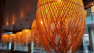 6 x Dried Grass Lampshades (Lampshade Only Excludes Fittings)