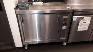 Bridge Catering Stainless Steel Hot Cupboard 950mm
