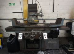 Jakobsen Surface Grinder with magnetic chuck/bed 6