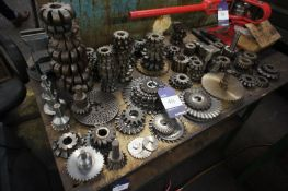 Quantity of Various Milling Cutters