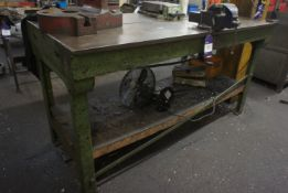 Heavy Duty Engineers Worktable with T-Slot, 1690mm