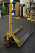 Unnamed Hand Operated Hydraulic Pallet Truck (yell