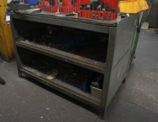 Steel Fabricated Work Bench 4ft x 2ft with 4in Vic