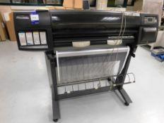 HP Designjet 1050C Model C6074A Printer