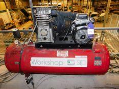 SIP Workshop Receiver Mount Air Compressor (Locate