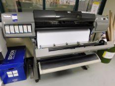 HP Designjet 5500 Model Q1251A Printer