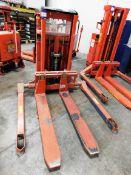 Logitrans 1002/890 Electric Pallet Truck, s/n 093D