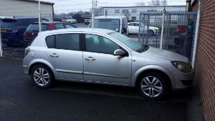 Vauxhall Astra 1.6 SXI, DY07 GZJ, Last known mileage 104,242 miles in September 2019, V5, possible n