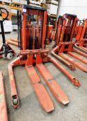 Logitrans LL100/TES Electric Pallet Truck, s/n 222