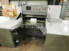 Polar 115ED Guillotine with Air Table Serial Numbe