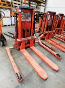 Logitrans LL100/TES Electric Pallet Truck, s/n 344