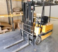 Jungheinrich Electric Forklift, Type 86730560, s/n