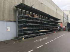 Schafer KRS Cantilever Stock Racking with Canopy