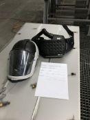 3x 3M Versaflo Respiratory Helmets