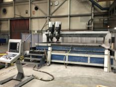 HG Ridder Waricut 2040 High Pressure Water Jet Cutting Machine